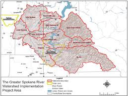 Spokane Map 7 7 Million Dollars Secured To Meet Conservation And Nonpoint