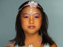 kid u0027s halloween makeup tutorial fairy princess hgtv