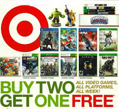 xbox one black friday game deals target target buy 2 get 1 free on all video games in us canada offer