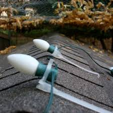 christmas light shingle clips 50 ridge row roof christmas light clips