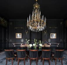 Interior Design Dining Room Best 25 Black Dining Rooms Ideas On Pinterest Dark Dining Rooms