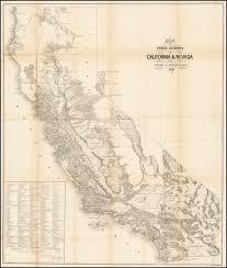 Nevada Map Map Of Public Surveys In California U0026 Nevada To Accompany Report