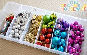 organising and storing decorations the organised