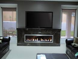 gas fireplaces landscape real flame