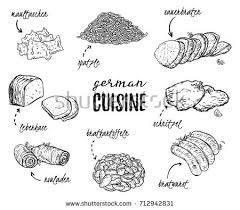 german cuisine menu german cuisine stock images royalty free images vectors