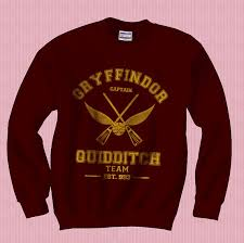 Gryffindor Quidditch Team Sweatshirt Captain Can I Have It