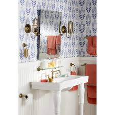 Scandinavian Shower Curtain brayden studio ladwig scandinavian block tulip 33 u0027 x 20 5