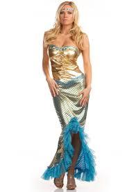 Womens Mermaid Halloween Costume Sea Worthy Costume M1679