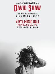 halloween city pensacola fl david shaw of the revivalists tickets vinyl music hall
