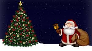download wallpaper 1920x1080 santa claus christmas tree night