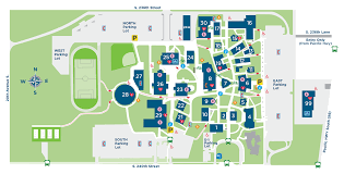 Usa Campus Map by Locations And Directions Highline College
