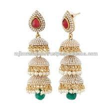 jhumki earring indian jhumki jhumka earring set traditional jewellery