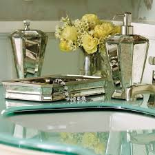 amazing idea mirrored bathroom accessories bath rh sets uk mosaic