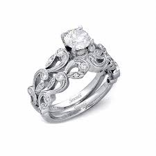 antique gold engagement rings 33ct simon g diamond antique style 18k white gold engagement ring