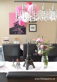 interior design creative party decorations paris theme home