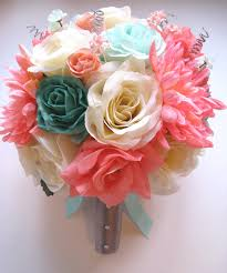 teal roses coral teal mint silver roses and dreams