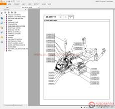 auto repair manuals backhoe loader service manual operators