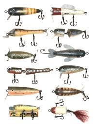 fishing lure ornaments set of 12