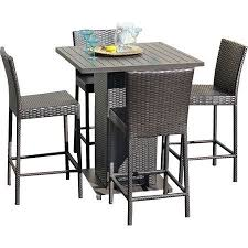 powder coated aluminum outdoor dining table napa 5 piece bar height dining set pub set outdoor dining and