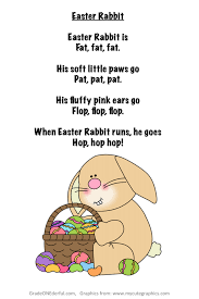 free easter poems easter poem freebie poem easter and rabbit