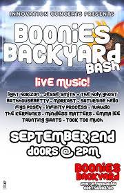 boonies backyard bash innovation concerts
