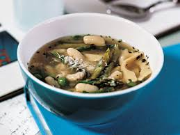 Butternut Squash And White Bean Soup White Bean Soup With Asparagus And Peas Recipe Joanne Weir