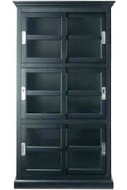 small black cabinet with doors locking media cabinet small prepac black tall storage bomer