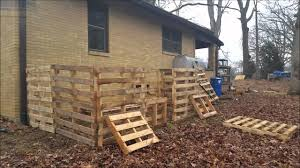 goat barn from pallets youtube