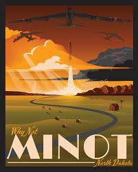 South Dakota Travel Posters images Minot afb fall squadron posters jpg