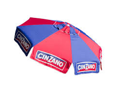Beech Umbrella 8ft Cinzano Deluxe Beach And Patio Umbrella With Storage Bag