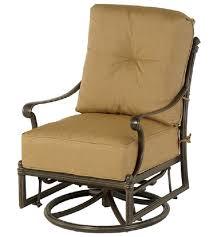 Swivel Patio Chair St Augustine By Hanamint Luxury Cast Aluminum Patio Furniture