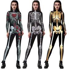 skeleton costume womens womens skeleton costume ebay
