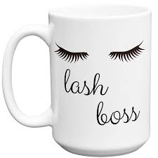 lash boss funny novelty ceramic coffee mug cup with gift box u2013 mugvana