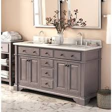 double sink bathroom vanities bath the home depot intended for