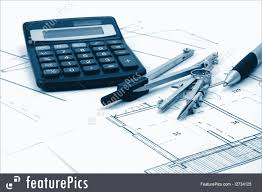 construction architectural plans of residential real estate