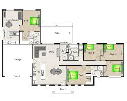 4 bedroom house plans single story google search house home architecture house with granny flat google search house plans
