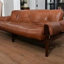 Midcentury Leather Sofa Furniture Mid Century Sofa For Refresh Your Living Room