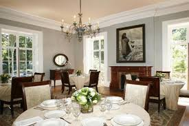 Dining Room Color Combinations Dining Room Decorating Color Ideas With Various Grey Color