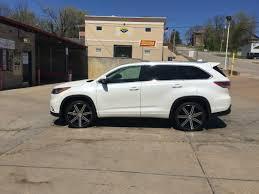 2017 jeep highlander 2016 toyota highlander limited on 22 u0027 ethos wheels