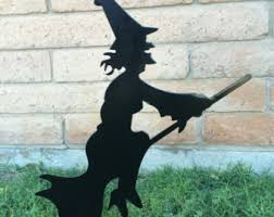 Halloween Witch Outdoor Decorations by Halloween Decor Outdoor Etsy