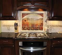 ceramic tile murals for kitchen backsplash chic ceramic tile backsplash berg san decor