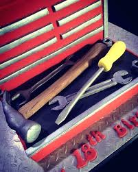 pastry chef tool box best tool box cake ideas on mechanic cake