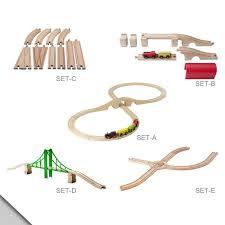amazon com ikea lillabo 5 piece track and bridge set set d