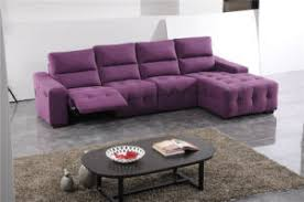 china purple color antique style fabric recliner sofa china
