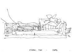 image result for frank gehry fish sketch archi hand drawing