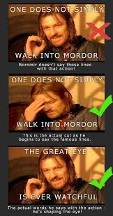 One Does Not Simply Meme Picture - boromir meme one does not simply dump a day