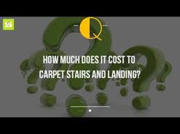 how much does it cost to carpet stairs and landing youtube
