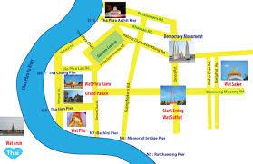 Bangkok Map Things To Do In Bangkok 5 Must See Temples Love Thai Maak