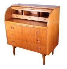 danish modern roll top desk ebth