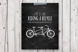 wedding quotes einstein tandem bicycle quote einstein illustrations creative market